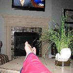 Feet Up in the Grand Oceano
