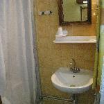 Shower inside the room