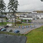 View from the window (Skavsta airport)
