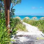Hotel walk to the beach