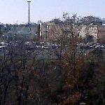 front window view of Outlet Mall