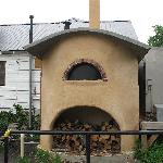 Wood-Fired Oven behind Flat Rock Village Bakery