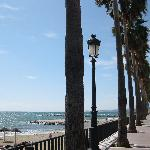 Marbella beach/boardwalk