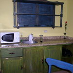 Kitchen area in the room