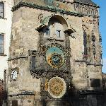 The clock in the Old Town Square