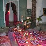 La table d'une soirée couscous !!!