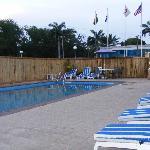 Airport veiw hotel swimming pool