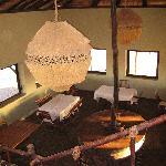 Meroe camp restaurant