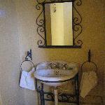 Meroe camp bathroom