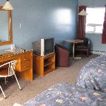 una camera del motel