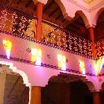 Hotel Salama lounge upstairs