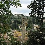 Nearby Town of Fiesole
