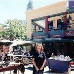 Lia en Mercado del Puerto de Montevideo