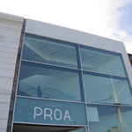 front of PROA in La Boca