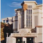 Entrée du Musée de la Mer de Biarritz