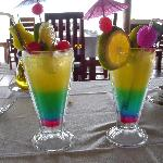 now that is a welcome cocktail!