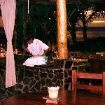 Outdoor kitchen at Casa Chameleon
