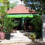 the resorts great Khmer cafe and breakfast .........if you don't have it by the pool ?