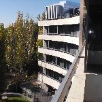 Terrazas de las habitaciones y terraza interior