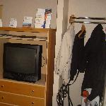 TV & Storage area