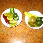Pickle bar items