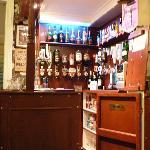 the bar,