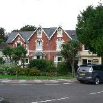 the right side is Elmdene Hotel