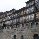 houses along the Cais da Ribeira