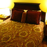 Bed and nightstands in room 20