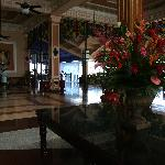 lobby with open air