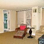 Bedroom reading area