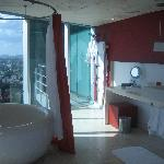 Bathroom section of Suite