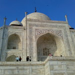 Upper View-Taj Mahal