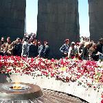 Armenian Genocide Memorial on April 24 (Copyright Raffi Kojian)