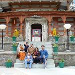 """""""outside the entrance of kinnaur temple"""""""