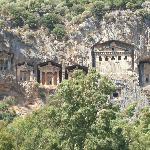 The Lycian Cliff Tombs