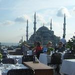 The Blue Mosque view