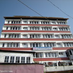 Building front view of Hotel Grand Central of Simla