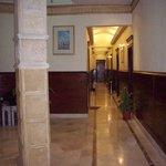 Hallway in City View Hotel, Cairo