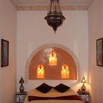 Notre chambre au Riad Les 3 Palmiers