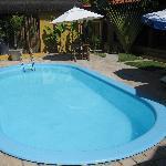 Der eine pool des Hotels