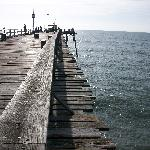 Kure Beach pier...only about 2 miles from the motel