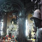the jade emperor and the two huge horses. ring the bells on their neck for luck