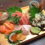 Sashimi Omakase (pricey but very good!)