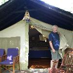 Sarova offered tents...hardly roughing it!