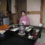 Japanese Breakfast in room