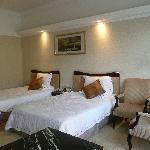 bedroom bed area