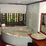 bathroom with the divine bath