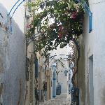 una calle en la Medina de Hammamet