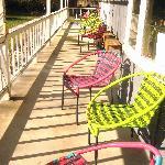 comfy porch